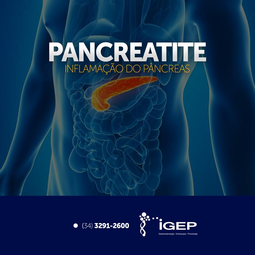 Pancreatite, inflamação do pâncreas