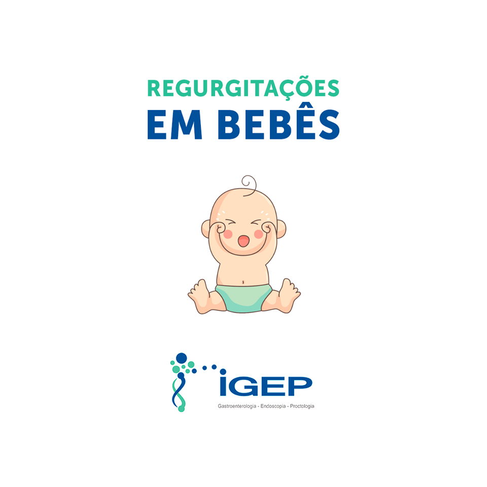 Regurgitações em bebês