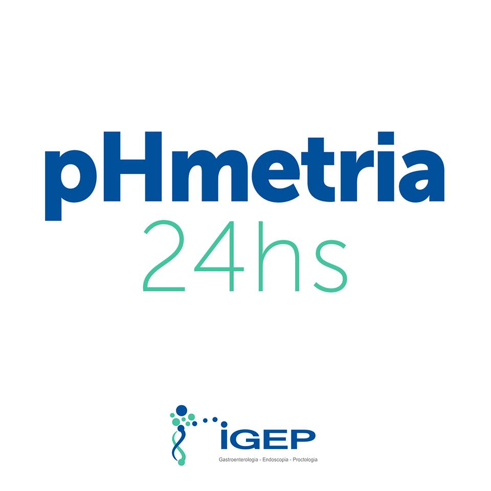 pHmetria de 24hs para pesquisa de refluxo em crianças